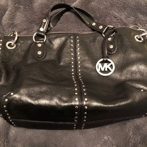 Michael Kors Astor Large Chain Satchel